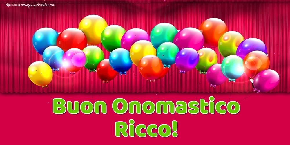 Cartoline di onomastico | Buon Onomastico Ricco!