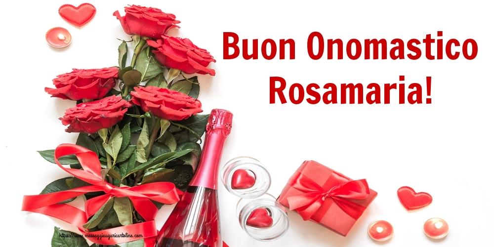Cartoline di onomastico   Buon Onomastico Rosamaria!