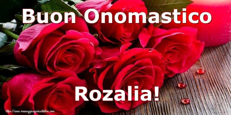 Cartoline di onomastico | Buon Onomastico Rozalia!