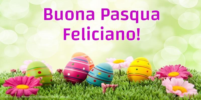 Cartoline di Pasqua | Buona Pasqua Feliciano!