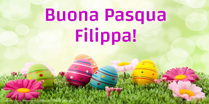 Cartoline di Pasqua | Buona Pasqua Filippa!