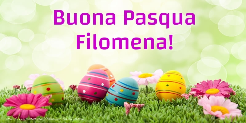 Cartoline di Pasqua | Buona Pasqua Filomena!