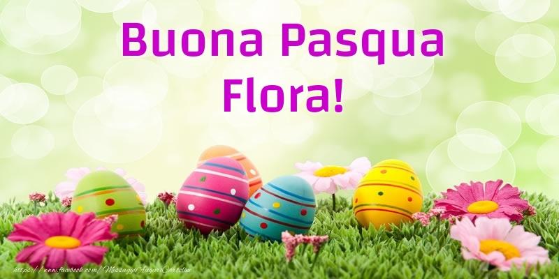 Cartoline di Pasqua | Buona Pasqua Flora!