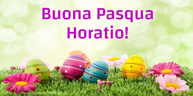Cartoline di Pasqua | Buona Pasqua Horatio!