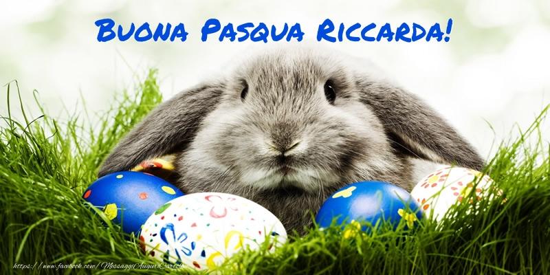 Cartoline di Pasqua | Buona Pasqua Riccarda!