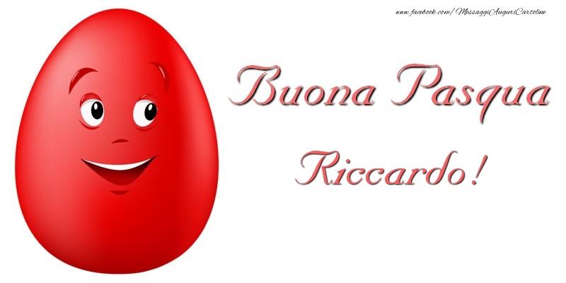 Cartoline di Pasqua   Buona Pasqua Riccardo!