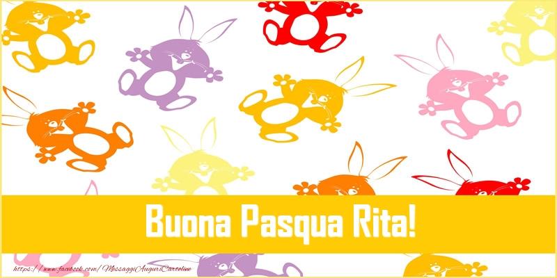 Cartoline di Pasqua | Buona Pasqua Rita!