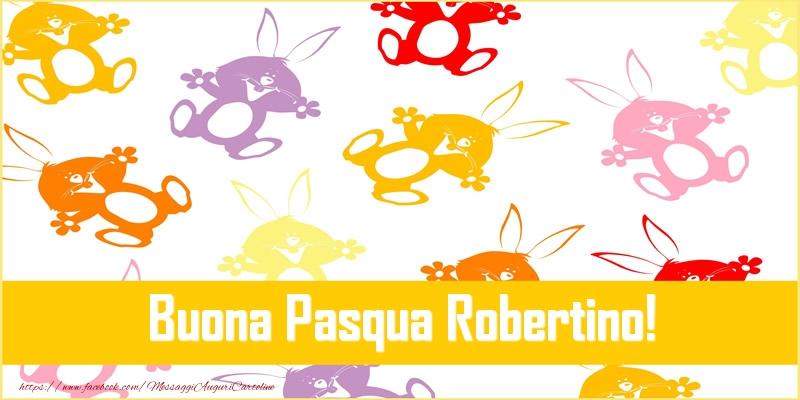 Cartoline di Pasqua   Buona Pasqua Robertino!