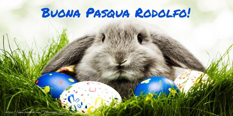 Cartoline di Pasqua   Buona Pasqua Rodolfo!